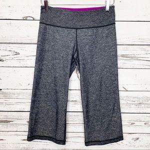 LULULEMON ATHLETICA | black white cropped pants